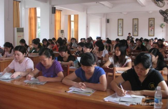 梅江区举办幼儿教师培训