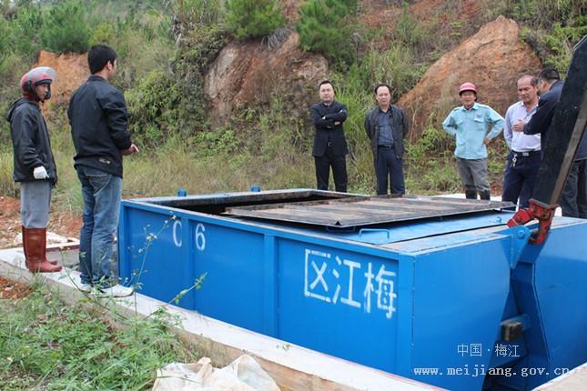 长沙镇环保垃圾中转站启用