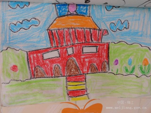 实验幼儿园幼儿作品:我爱北京天安门