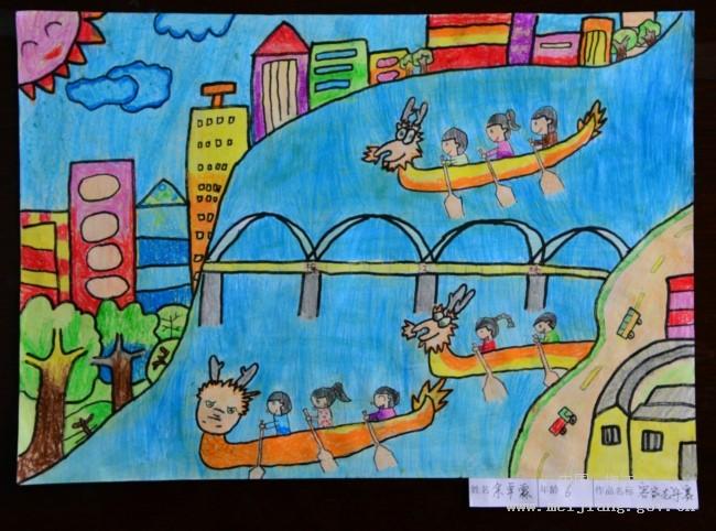 实验幼儿园客家元素幼儿美术作品