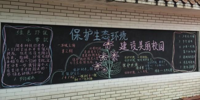 黑板报等让学生明白地球是人类赖以